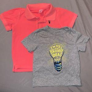 18 Month Boys Polo & T-Shirt Bundle